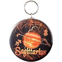Gothic Sagittarius Born 11/22 to 12/21 Sign key chain