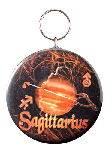 Gothic Sagittarius Born 11 22 To 12 21 Sign Key Chain
