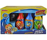 Mozlly Multipack - Disney Junior Mickey and the Roadster Racers Bowling Sets - 6 Pins and 1 Bowling Ball - Indoor and Outdoor Fun - Durable, Lightweight Plastic - Novelty Character Toys (Pack of 6)