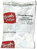 Boyd's Coffee Ground Coffee, Good Morning, Medium Roast , 3-Ounce Portion Packs (Pack of 40)