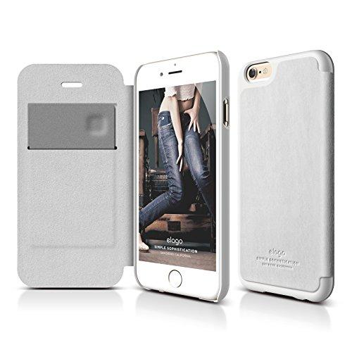 iPhone Case elago Leather White