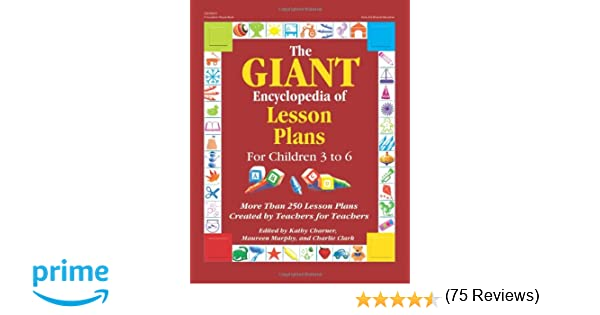 The Giant Encyclopedia of Lesson Plans for Children 3 to 6 (GR ...