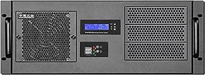 "PLINKUSA RACKBUY 4U(Fan LCD)(3x5.25""+8x3.5"" HDD+2.5""HDD Bay)(14.96"" Deep)(ATX/Micro-ATX/Mini ITX) Rackmount Chassis(Take Mini Redundant PSU)(NO Power Supply,No Rail,No System and Case Only)IPC-G4380S"