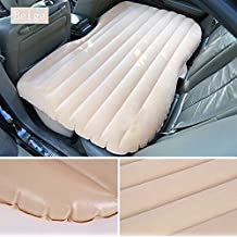 Hwbubble Lover Air Bed Car Travel Inflatable Mattress Flocking Air Bed Camping Universal SUV Back Seat Extended Air Couch with Two Air Pillows Car Sex Tools