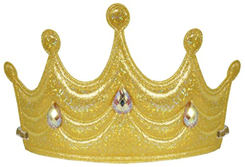 Little Pretends Soft Princess Crown (Gold) (Beauty Queen Fancy Dress)