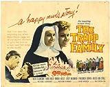 The Trapp Family Movie Poster (22 x 28 Inches - 56cm x 72cm) (1960) Half Sheet -(Ruth Leuwerik)(Hans Holt)(Maria Holst)(Josef Meinrad)(Friedrich Domin)