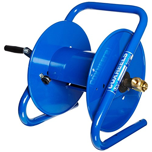 Caddy Mount (Coxreels 112-3-150-CM Caddy-Mount Portable Hose Reel, 4,000 PSI, Holds 3/8
