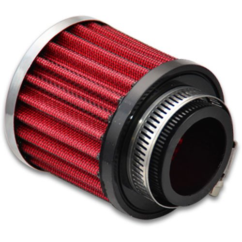 Vibrant Performance 2188 Crankcase Breather Filter w/Chrome Filter Cap 3 in. O.D. 3 in. Tall 1.5 in. I.D. Crankcase Breather Filter w/Chrome Filter - Crankcase Chrome