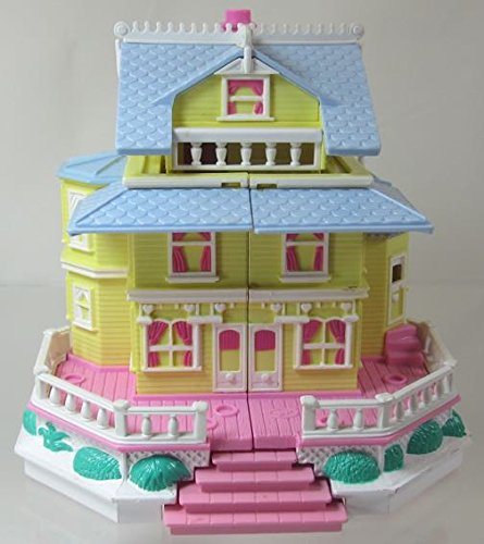 1995 Polly Pocket Vintage Clubhouse Victorian Dollhouse Bluebird Toys