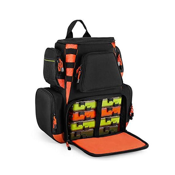 Magreel Multifunctional Fishing Tackle Backpack