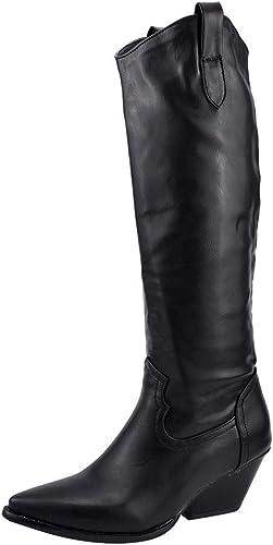 BURFLY Women's Western Cowboy Boots