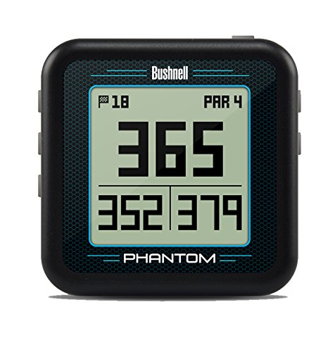 Bushnell Phantom Golf GPS, Black (Best Golf Rangefinder Under 100)