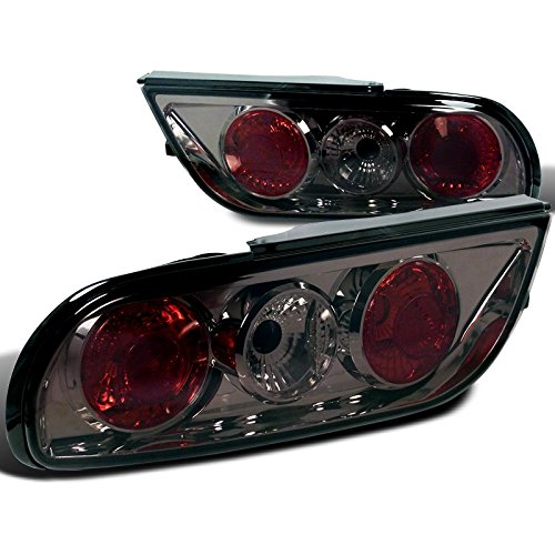 Spec-D Tuning LT-S1389G-TM Nissan S13 240Sx 2Dr Hatchback Smoke Tail Lights
