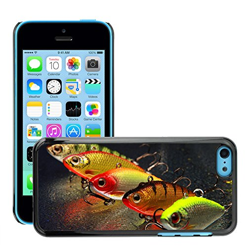 Hülle Case Schutzhülle Cover Premium Case // V00002602 Angelköder // Apple iPhone 5C