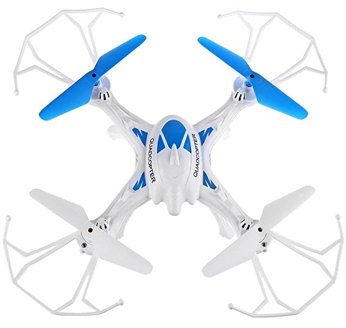 SUPER TOY 2.4GHz 6 Channel R/C Drone Without Camera 360° Flip Quadcopter RC Toy ( Multicolor )