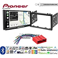 Volunteer Audio Pioneer AVIC-W8400NEX Double Din Radio Install Kit with Navigation, Apple CarPlay and Android Auto Fits 2001-2002 Mazda 626