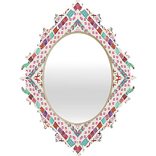 Deny Designs Monika Strigel Happy Echo Baroque Mirror, 19 x 14