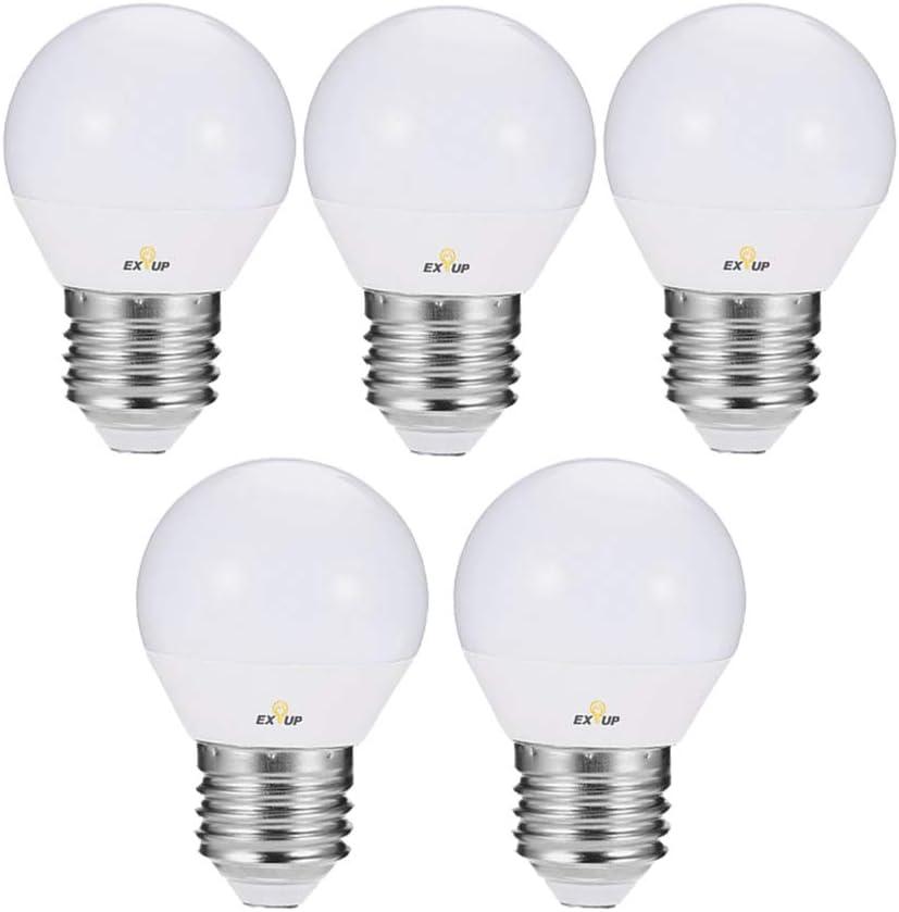 Walmeck 110-130 V LED Light Bulbs 7W E26 LED Spotlight Bulb Lamp Globe Light Bulbs Frosted LED Filament Indoor Bulb for Ceiling Lighting Warm White 1Pc