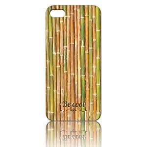 BeCool iPhone 5 iPhone 5S TPU Cover Green Bamboo