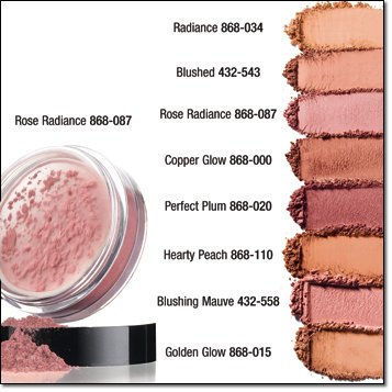 Powder Avon Mineral (Avon Smooth Minerals Blush Rose Powder 0.09 oz)