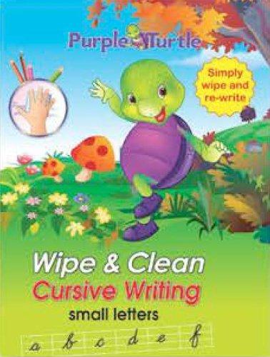 Purple Turtle Wipe & Clean Cursive Writing Capital Letters pdf epub