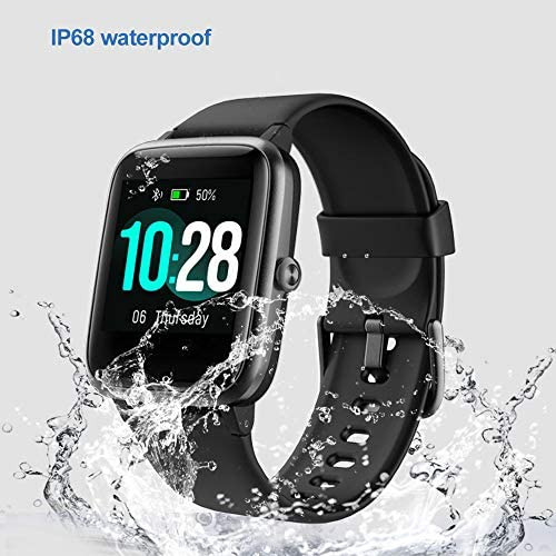 YAMAY Smart Watch Fitness Tracker Watches for Men Women, Fitness Watch Heart Rate Monitor IP68 Waterproof Digital Watch with Step Calories Sleep Tracker, Smartwatch Compatible iPhone Android Phones WeeklyReviewer