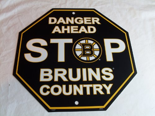 Fremont Die NHL Boston Bruins Stop Sign, 12