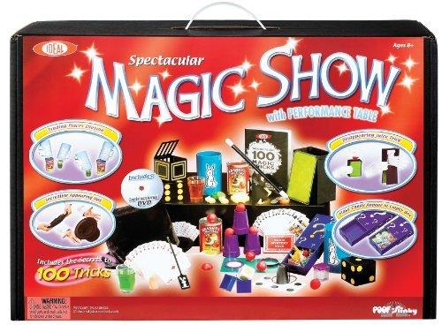 Magic Suitcase Show (Spectacular 100 Trick Magic Show Suitcase - Includes Bonus Deck of Cards!)
