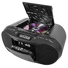 CFDS70-BLK CD/MP3 Cassette Boombox