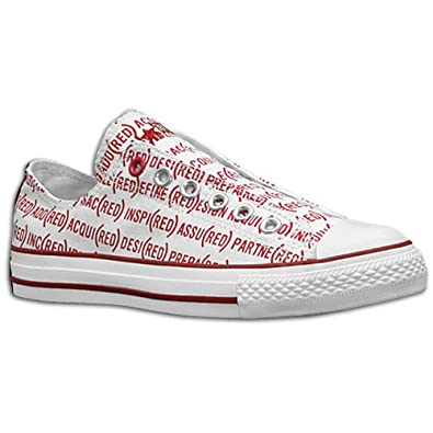 edf3526ed17815 Converse All Star CT Red Slip Trainers Casual Shoes Plimsolls Fashion Sneakers  White Red Chuck Taylor UK 9.5  Amazon.co.uk  Shoes   Bags