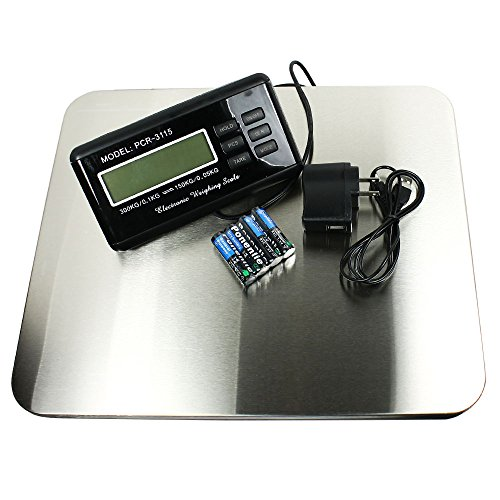 [Horizon CR-3115 Heavy Duty 660 lb x 0.1 lb Digital Platform Scale] (Heavy Duty Digital Scale)