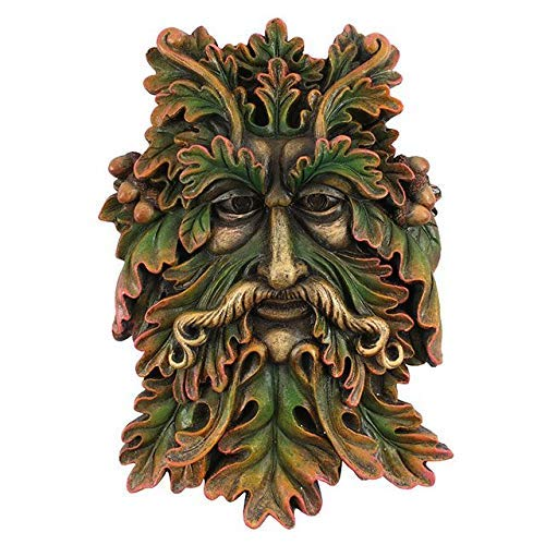 Something Different Green Man FACE Plaque - Spirit of Forest -Home Decor