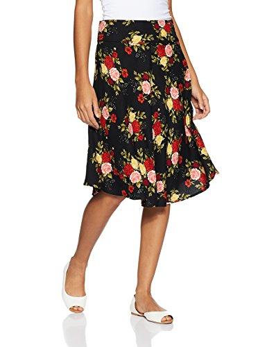 DJ&C by fbb Women's Pleated Knee Long Skirt