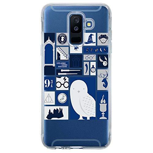 Capa Personalizada Samsung Galaxy A6 Plus A605 Harry Potter - HP01