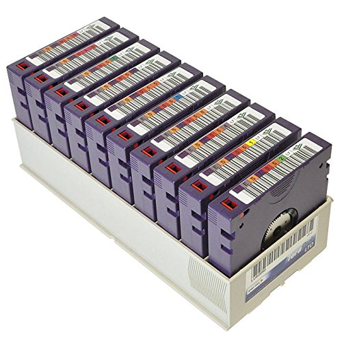 Hpe Lto-7 Cert Terapack Tapes by HPE - MEDIA 7A