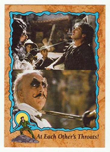 At Each Other's Throats (Trading Card) Hook # 94 Topps 1992 - NM/MT