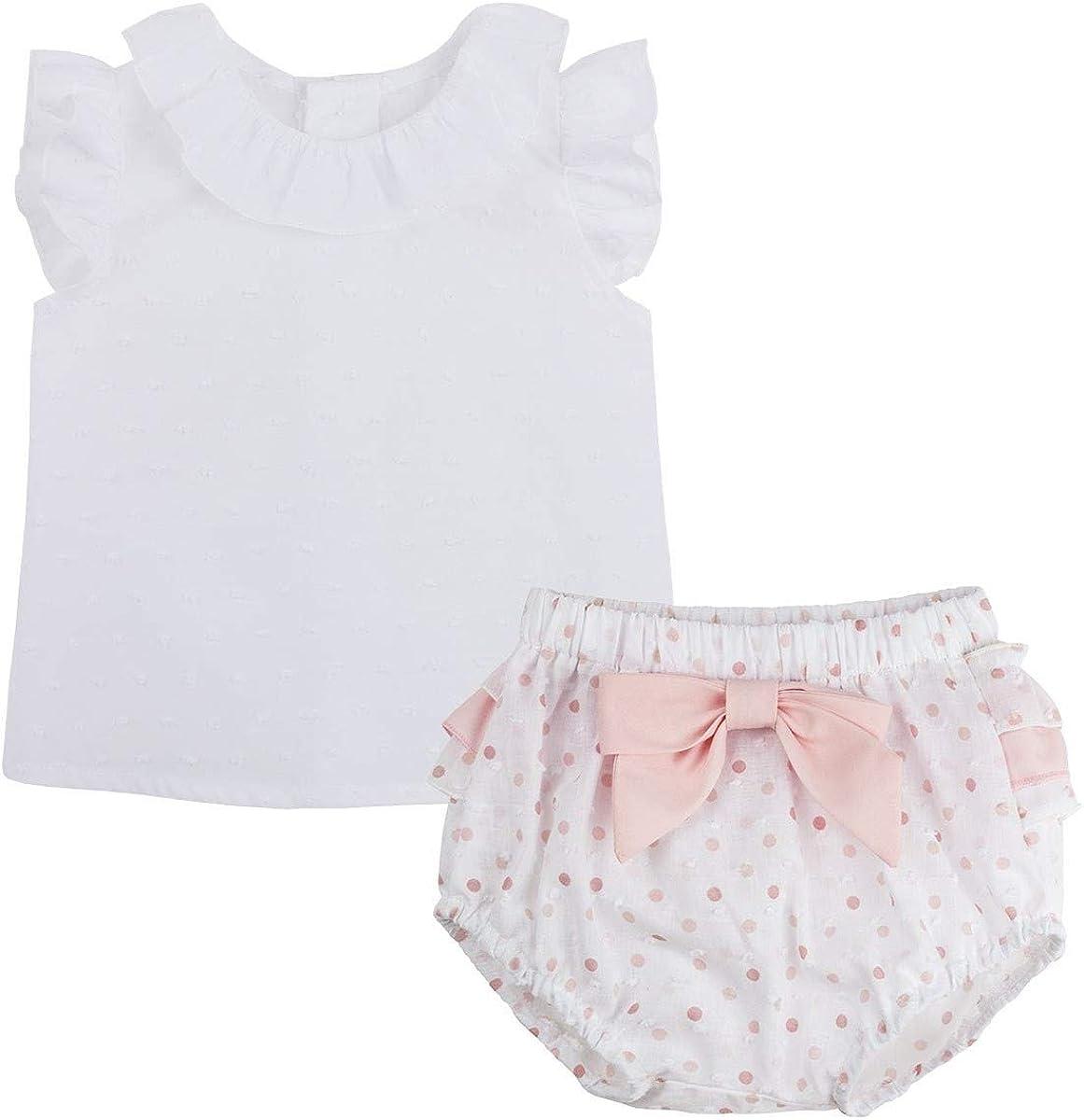 Kiriki - Conjunto Camisero de Verano Gloria para Bebé-Niñas