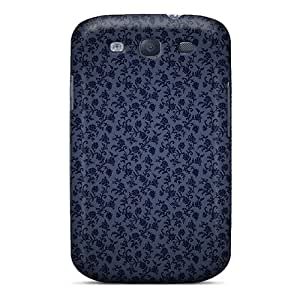 New Style Cases Covers WDV23192rgAn Lacey Black Compatible With Galaxy S3 Protection Cases