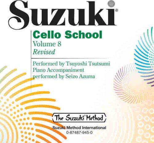 Suzuki Cello School, Vol 8 Tsuyoshi Tsutsumi
