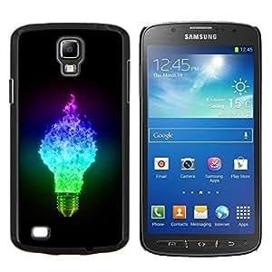 TECHCASE---Cubierta de la caja de protección para la piel dura ** Samsung Galaxy S4 Active i9295 ** --Ligtbulb Colores Glow