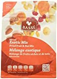 7oz Exotic Trail Mix from Basse Nuts, Selected Exotic Mix Dried Fruit, Craisin and Nut Mix, with Dried Cranberries, Roasted Peanuts, Roasted Almonds, Roasted Macadamia Nuts, Raw Brazil Nuts & Cashews