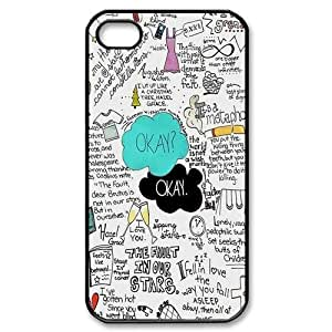 Customize John Green The Fault In Our Stars Back Case for Apple iphone4/4S JN4S-1704