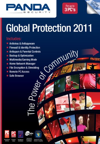 Panda Global Protection 2011 3-User [Download] [OLD VERSION] by Panda Software