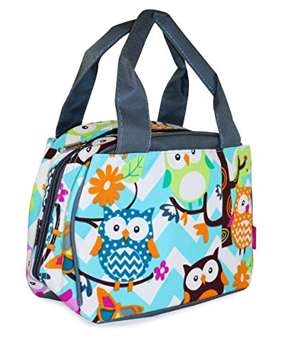 N Gil Chevron Owl Insulated Lunch - Square Fairview