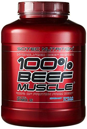 Scitec Nutrition Beef Muscle Vanille Sahne, 1er Pack (1 x 3.18 kg)