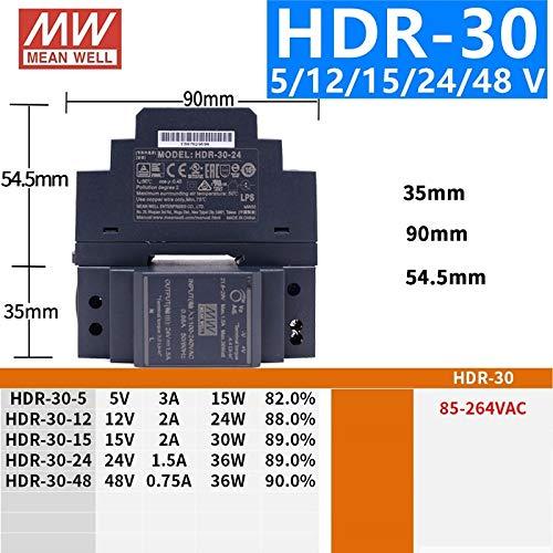 Utini DR-15-15 15W Single Output Industrial DIN Rail Power Supply 15V 1A Power Supply