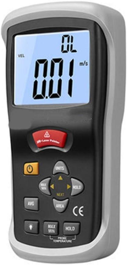 OTraki An/émom/ètre Portable num/érique LCD Compteur de Vitesse du Vent