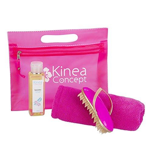 El cuidado del cabello - secado Natural - No Blow Dry - 100 ml Aceite de Ricino Natural - Cepillo pelo desenredar Lissante - Toalla microfibra cabello - LE ...