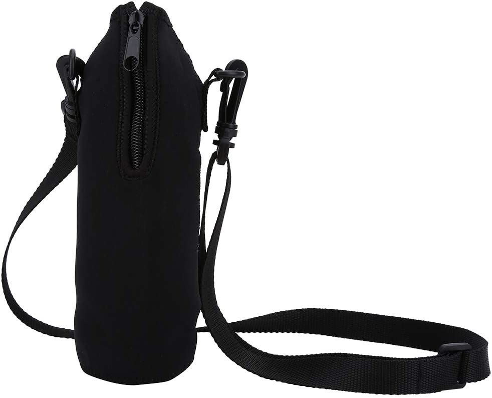 Aramox Sports Bottle Cover Outdoor Water Bottle Carrier 1L Thermal Holder Bag Scald-Proof Case Cover Sleeve with Strap