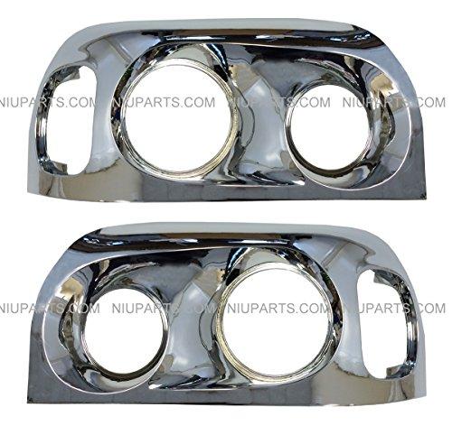 Freightliner-Century-Headlight-Bezel-Chrome-Driver-Passenger-Side